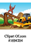 Deforestation Clipart #1694204 by Graphics RF