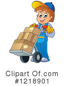 Delivery Clipart #1218901 by visekart