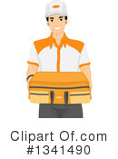 Royalty-Free (RF) Delivery Clipart Illustration #1341490
