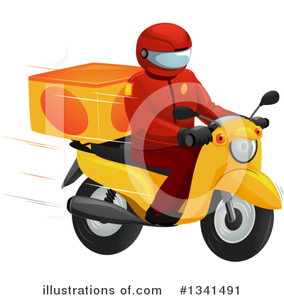 Food Delivery Clipart #1341491 by BNP Design Studio