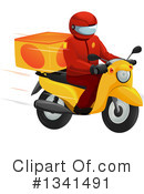 Royalty-Free (RF) Delivery Clipart Illustration #1341491