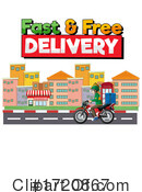 Delivery Clipart #1720867 by Graphics RF