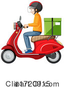 Delivery Clipart #1720915 by Graphics RF