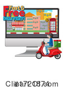 Delivery Clipart #1721874 by Graphics RF