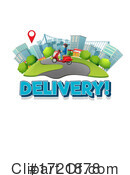 Delivery Clipart #1721878 by Graphics RF