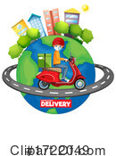 Delivery Clipart #1722049 by Graphics RF