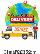 Delivery Clipart #1722052 by Graphics RF