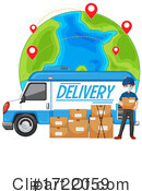 Delivery Clipart #1722059 by Graphics RF