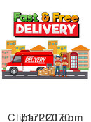 Delivery Clipart #1722070 by Graphics RF