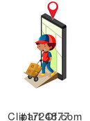 Delivery Clipart #1724877 by Graphics RF
