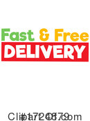 Delivery Clipart #1724879 by Graphics RF