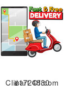 Delivery Clipart #1724880 by Graphics RF