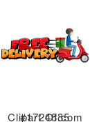 Delivery Clipart #1724885 by Graphics RF