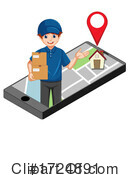 Delivery Clipart #1724891 by Graphics RF