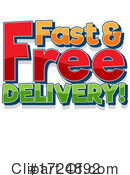 Delivery Clipart #1724892 by Graphics RF