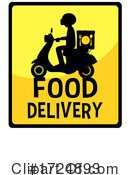 Delivery Clipart #1724893 by Graphics RF
