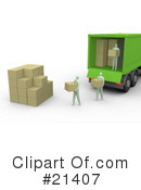 Royalty-Free (RF) delivery Clipart Illustration #21407