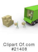 Delivery Clipart #21408 by 3poD