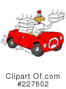 Royalty-Free (RF) delivery Clipart Illustration #227602