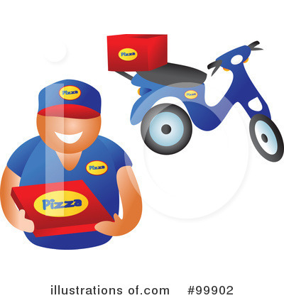 Royalty-Free (RF) Delivery Clipart Illustration by Prawny - Stock Sample #99902
