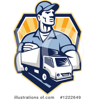 Mover Clipart #1222649 by patrimonio