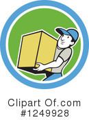 Delivery Man Clipart #1249928
