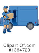 Delivery Man Clipart #1364723