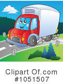 Delivery Truck Clipart #1051507 by visekart