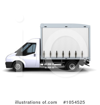 Trucking Clipart #1054525 by KJ Pargeter