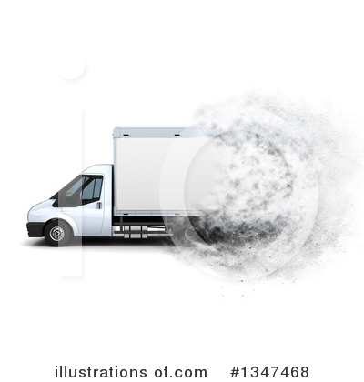 Trucking Clipart #1347468 by KJ Pargeter