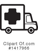 Delivery Van Clipart #1417966 by Lal Perera