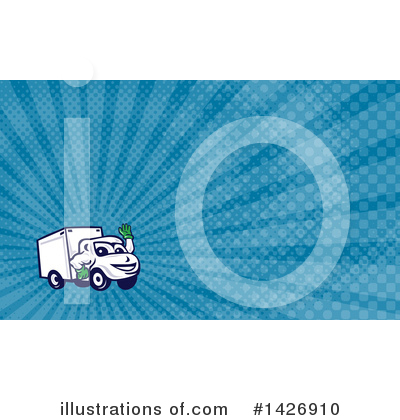 Business Card Design Clipart #1426910 by patrimonio