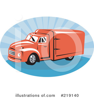 Big Rig Clipart #219140 by patrimonio