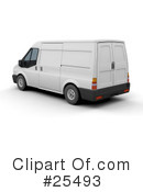 Delivery Van Clipart #25493 by KJ Pargeter