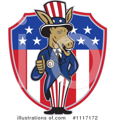 Democrat Clipart #1117172 by patrimonio
