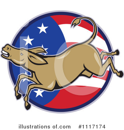 Democrat Clipart #1117174 by patrimonio