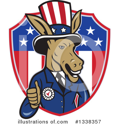 Democrat Clipart #1338357 by patrimonio