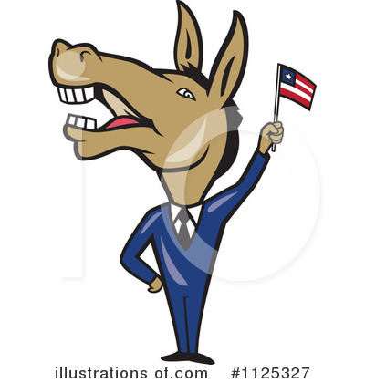 Democrat Clipart #1125327 by patrimonio