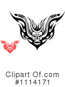Royalty-Free (RF) demon Clipart Illustration #1114171