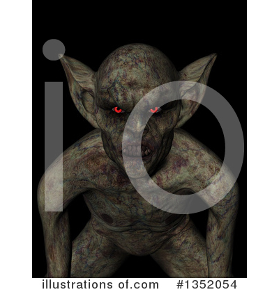 Demon Clipart #1352054 by KJ Pargeter