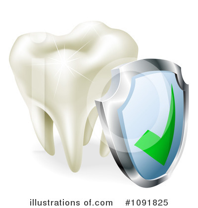 Tooth Clipart #1091825 by AtStockIllustration