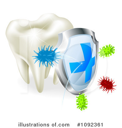 Tooth Clipart #1092361 by AtStockIllustration