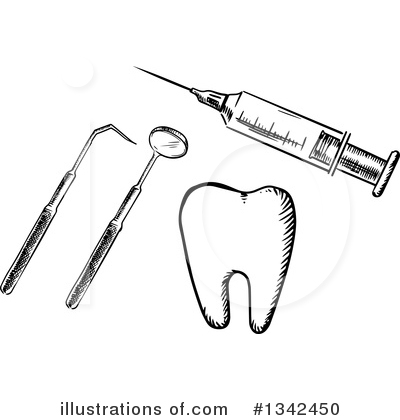 Royalty-Free (RF) Dental Clipart Illustration by Vector Tradition SM - Stock Sample #1342450