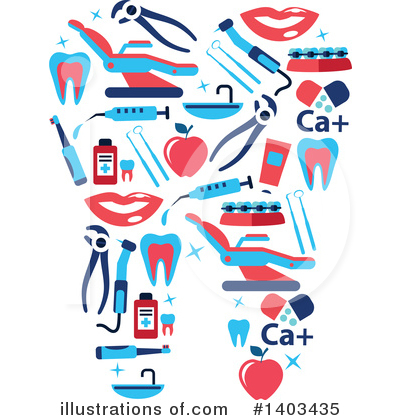 Dental Clipart #1403435 by Vector Tradition SM