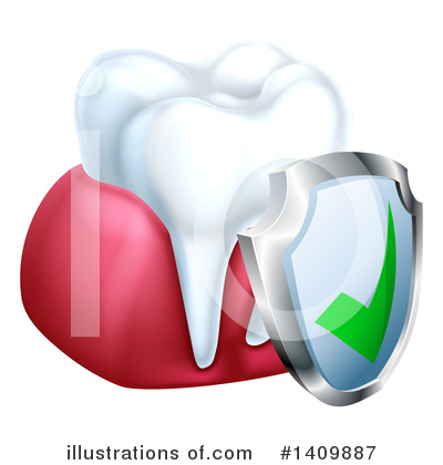 Tooth Clipart #1409887 by AtStockIllustration