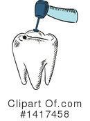 Dental Clipart #1417458 by Vector Tradition SM
