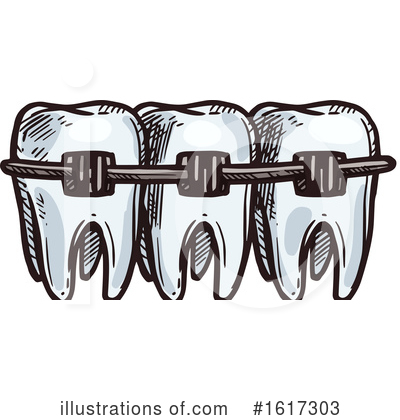Tooth Clipart #1617303 by Vector Tradition SM