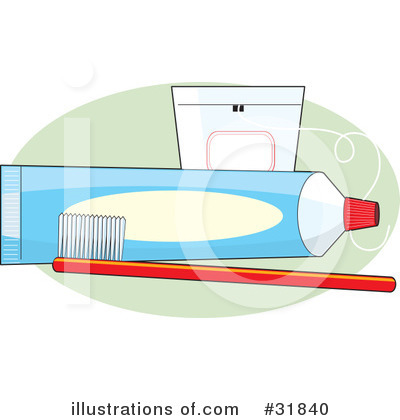 Royalty-Free (RF) Dental Clipart Illustration by Maria Bell - Stock Sample #31840