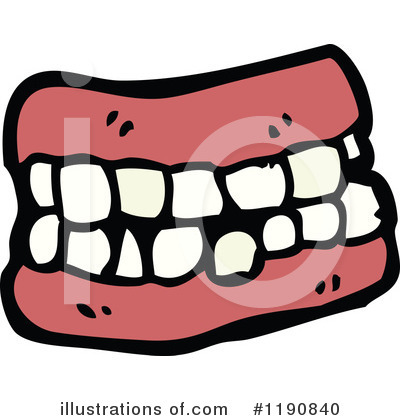 Royalty free rf dentures clipart illustration by lineartestpilot