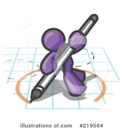 Royalty-Free (RF) Design Clipart Illustration by Leo Blanchette - Stock Sample #219504